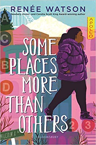Brown girls read   Some Places More Than Others by Rene Wilson
